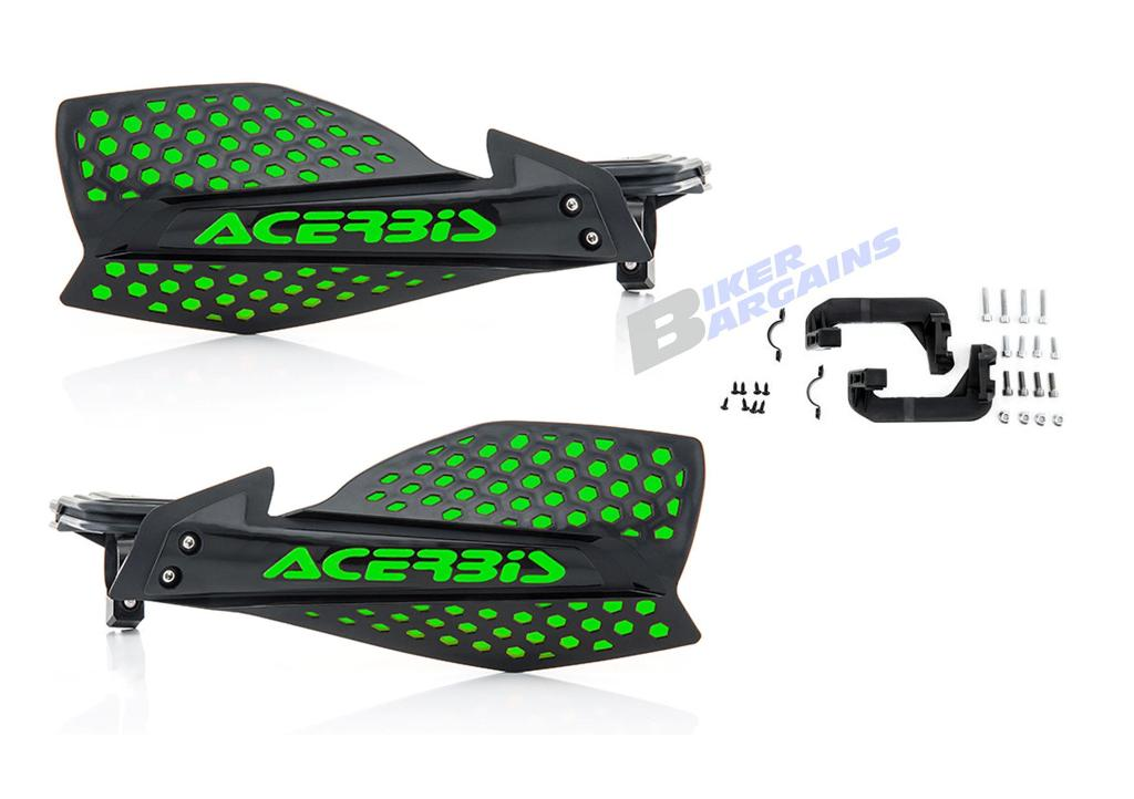 ACERBIS ULTIMATE HAND GUARDS GREEN